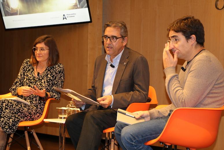 Col·loqui amb Anna Petrus i Jordi Muñoz, modera Joan Xirau