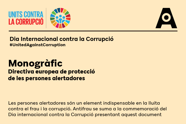 Dia Internacional contra la corrupció